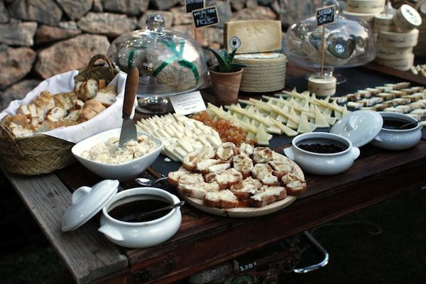 Cheese Platter Ideas Cheese Plate Table Serving Tray Party Soiree Wine and Cheese Caterer Guests Dipping Sauce Bread