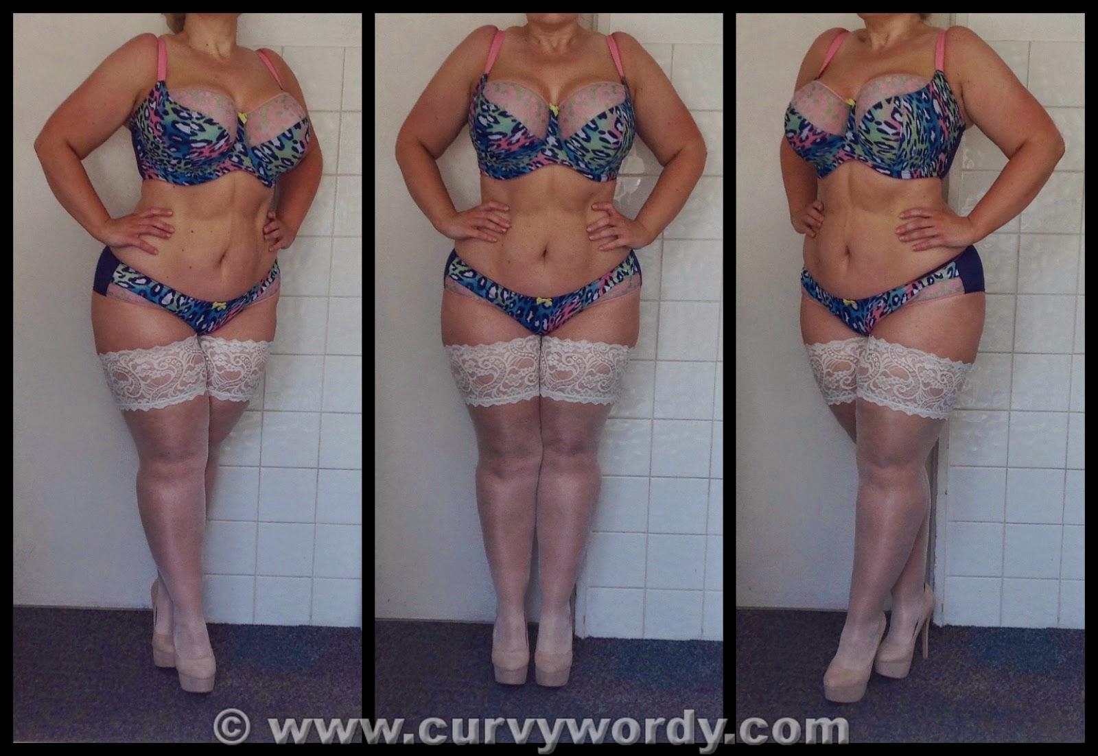 643f0dac82 Cleo By Panache Maya Balconnet Bra 36J and Briefs 18 - Curvy Wordy