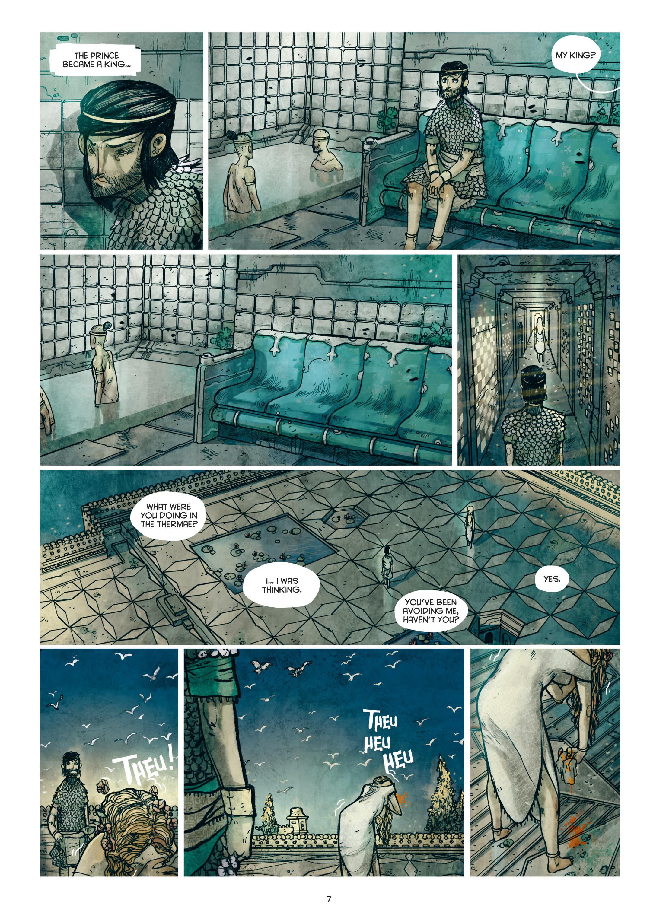 Read online Adrastée comic -  Issue #1 - 8