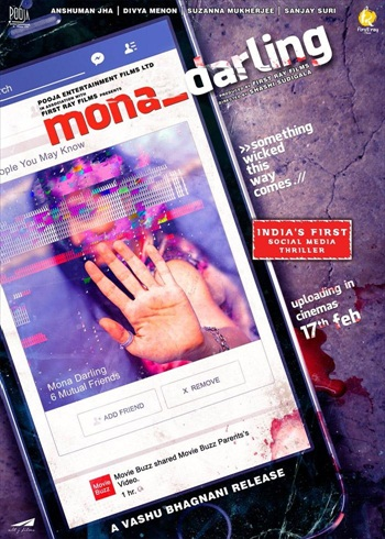 Mona Darling 2017 Hindi 480p HDRip 300mb