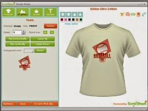 Sonicshar For Design T-shirt