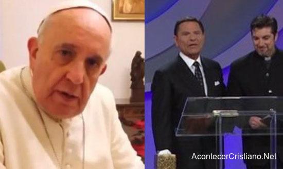 Papa Francisco envía mensaje a Kenneth Copeland