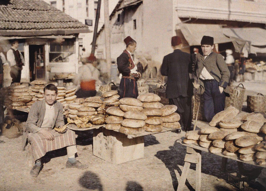 40 Old Color Pictures Show Our World A Century Ago - Bosnia-Herzegovina, Sarajevo, 1912