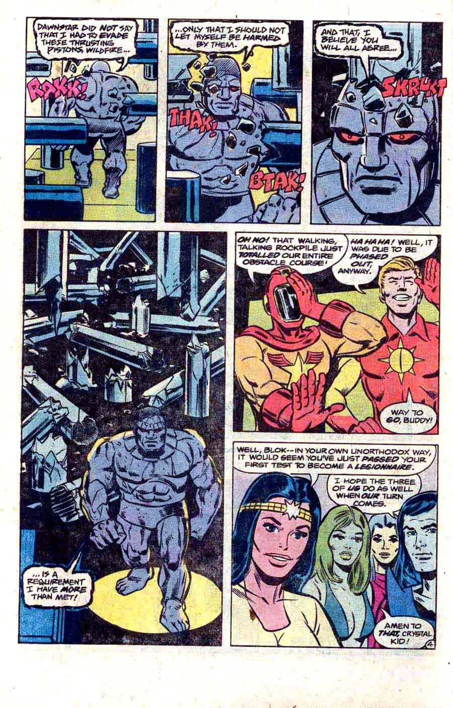Legion of Super-Heroes v2 #272 - Steve Ditko dc 1980s comic book page art