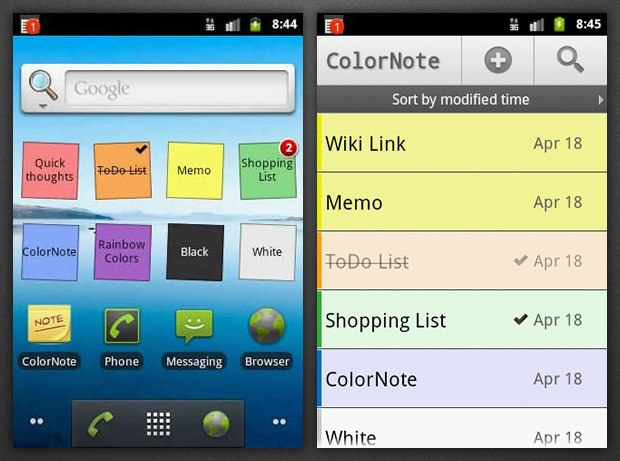 ColorNote Notepad APK