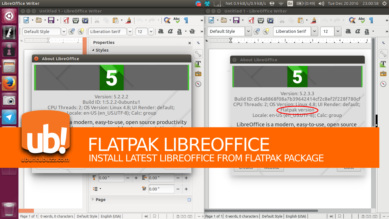 Ubuntu Buzz !: How To Install Latest LibreOffice from