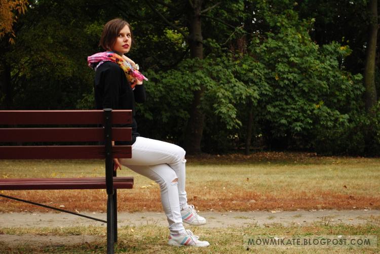 outfits, stylizacje, blog modowy, black and white look, outfit, autumn outfit, jesienna stylizacja, stylizacja na jesień, fall outfit, autumn,