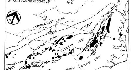 """NC Greenways Geology: Granite """"Pavement"""" Exposure"""