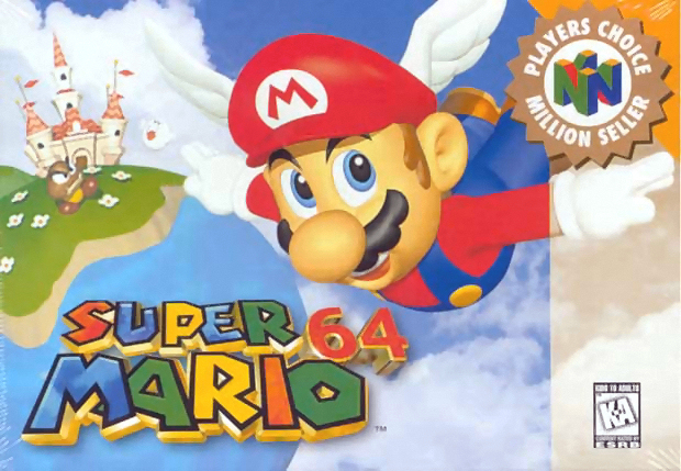 Neko Random My Top Ten N64 Games 2 Super Mario 64