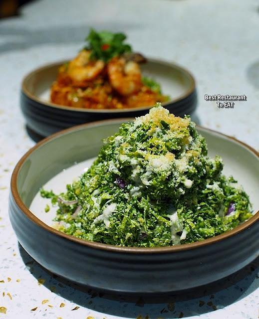 TOMMY THONGCHAI JAYA ONE  Menu - Kale Salad With A Crunch