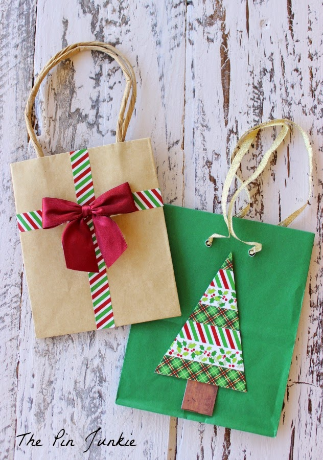 Washi Tape Gift Bags
