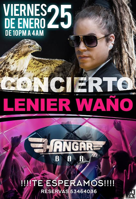 Lenier Waño - Concierto - 2019-01-25 - Hangar Bar - Cuba
