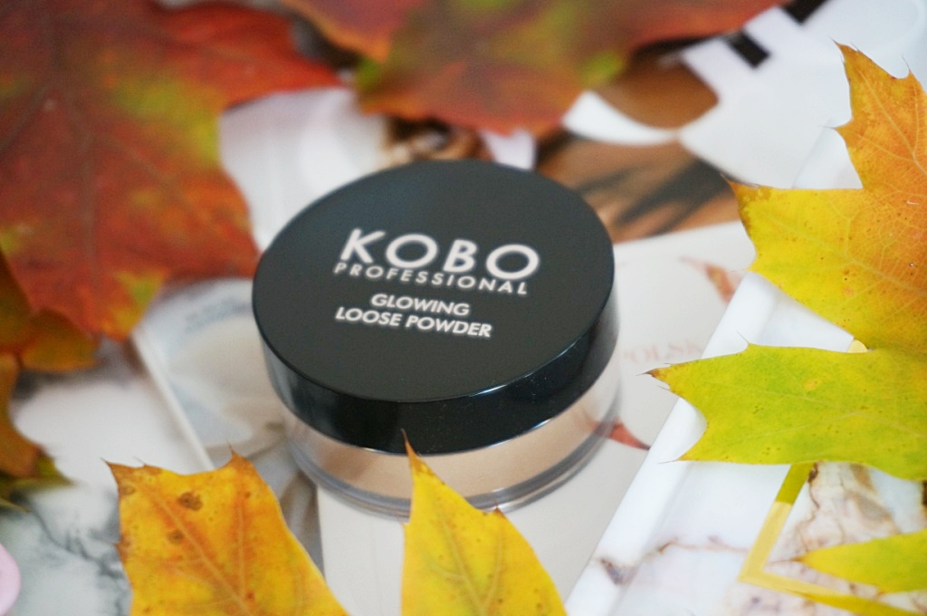 Kobo Professional glowing loose powder makijaż