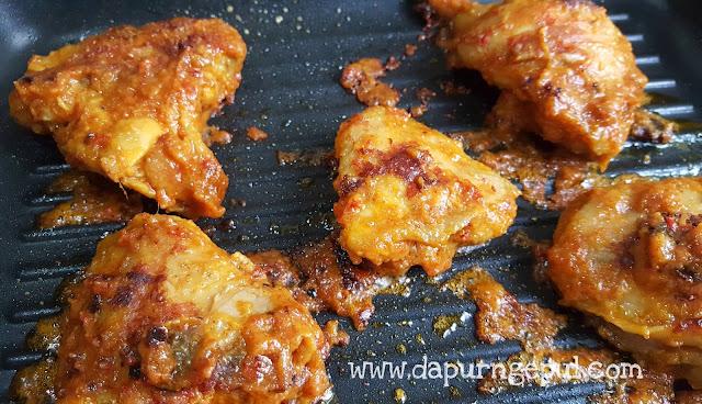ayam bakar padang, resep masakan Indonesia by amalia virshania