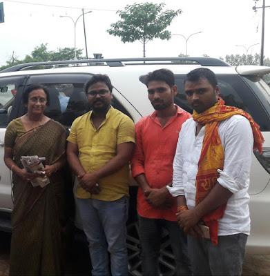 Minister Rita Bahuguda Joshi Welcomed At Basti Uttar Pradesh