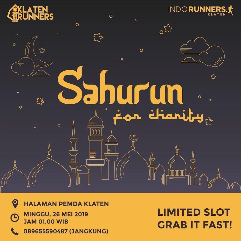 SahuRun for Charity • 2019