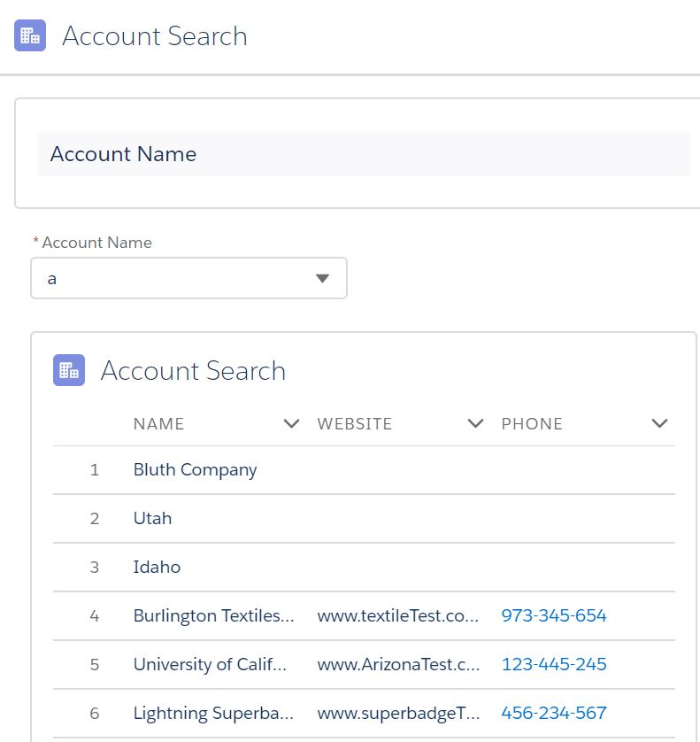 salesforce hands-on: Use of wrapper class in lightning:datatable