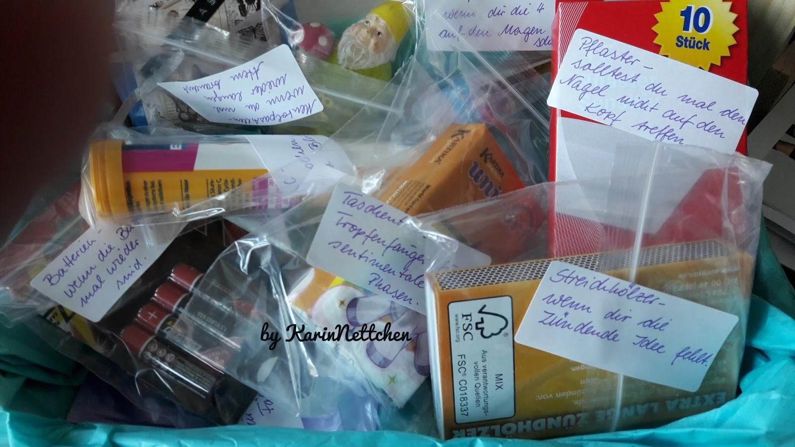 Notfallbox Geschenk