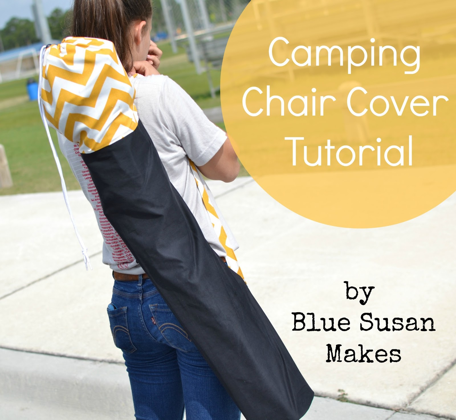 Soccer Mom Covered Chairs Diy Kids Chair Blue Susan Makes I Am A Camping Cover The Have Is Cheap Kind From Walmart Made Just Little Bigger Than First One So Easier To Get In And Out