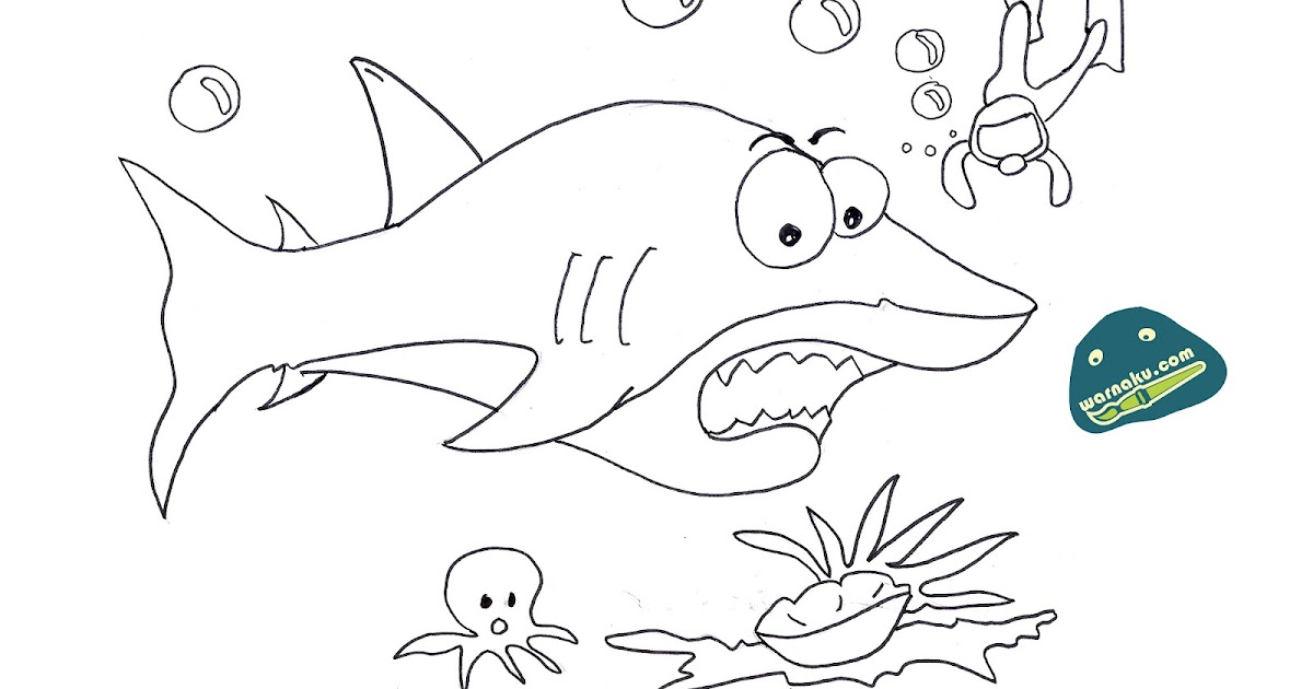 Gambar Menggambar Ikan Badut Draw Clown Fish Download Watch Paus