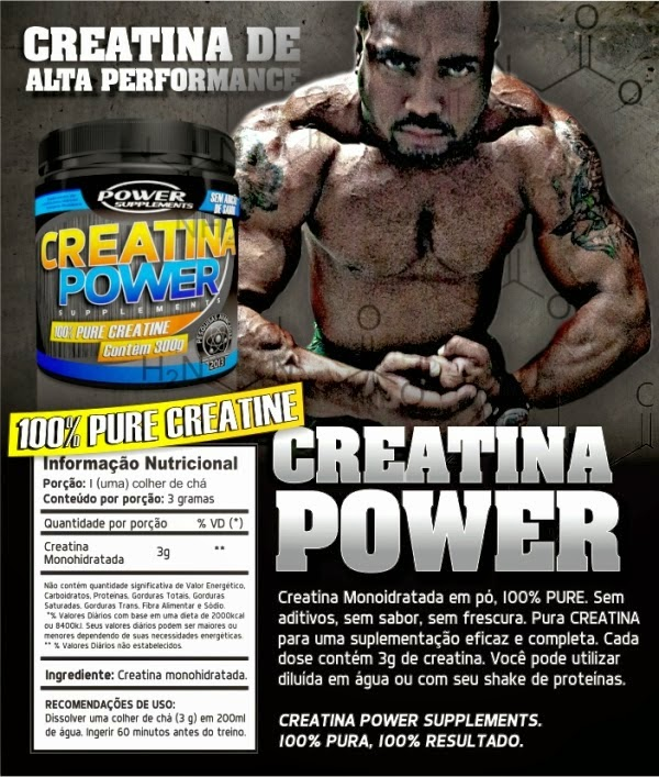 Creatina Power Supplements