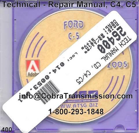 ford c-4, c-5 transmission parts