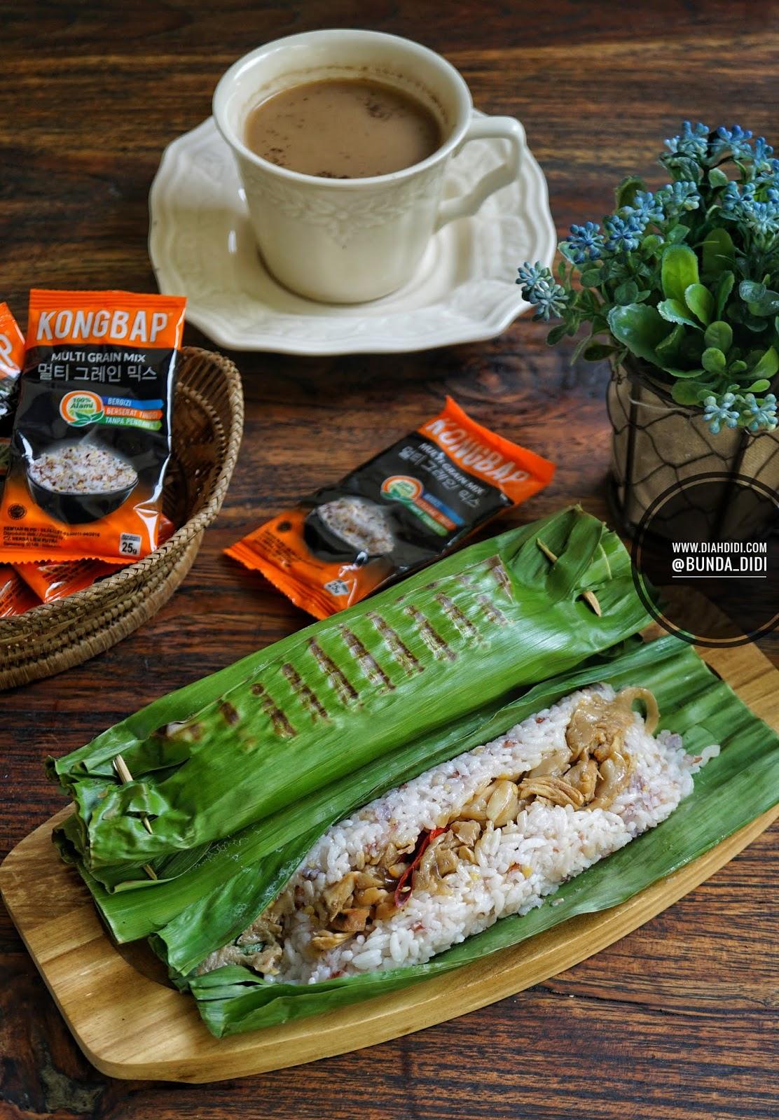 Diah Didis Kitchen Nasi Bakar Ayam Jamur Kongbap Multi Grain Mix Waktunya Healthy Menu With Ya Teman Untuk Minggu Ini Aku Masak Yang Praktis Aja Isi