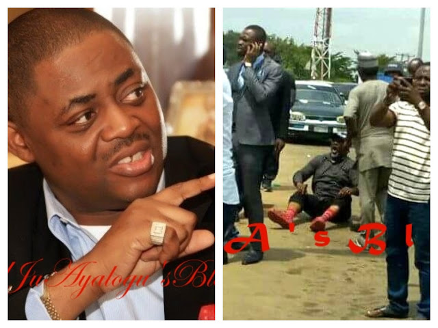 Dino Melaye: Fani-Kayode mocks Senator over face-off with police