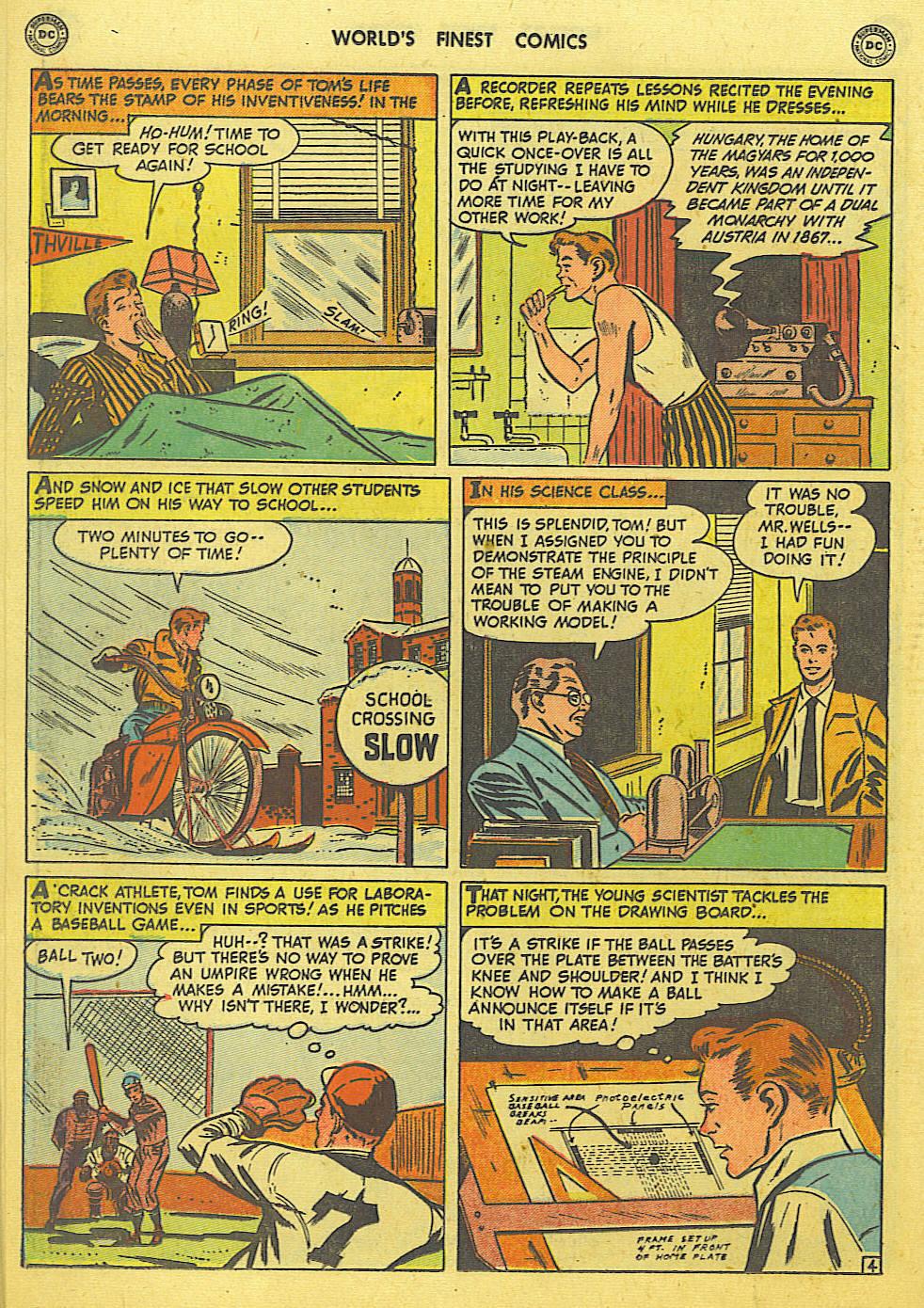 Read online World's Finest Comics comic -  Issue #49 - 33