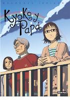 """Portada del cómic """"Kyoko y papá"""", de Masakazu Ishiguro"""