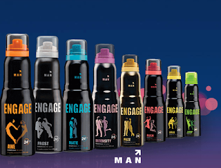 Body spray for men