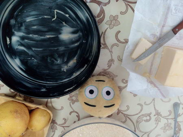 Receta de pastel de limón