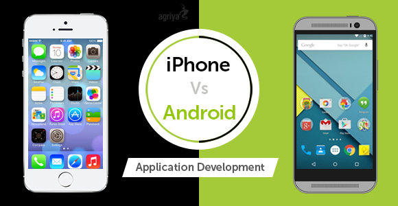 Différence entre iphone et android