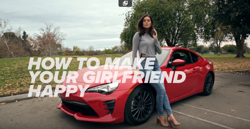 How To Make Your Girlfriend Happy | The 2017 Toyota 86 | Toyota