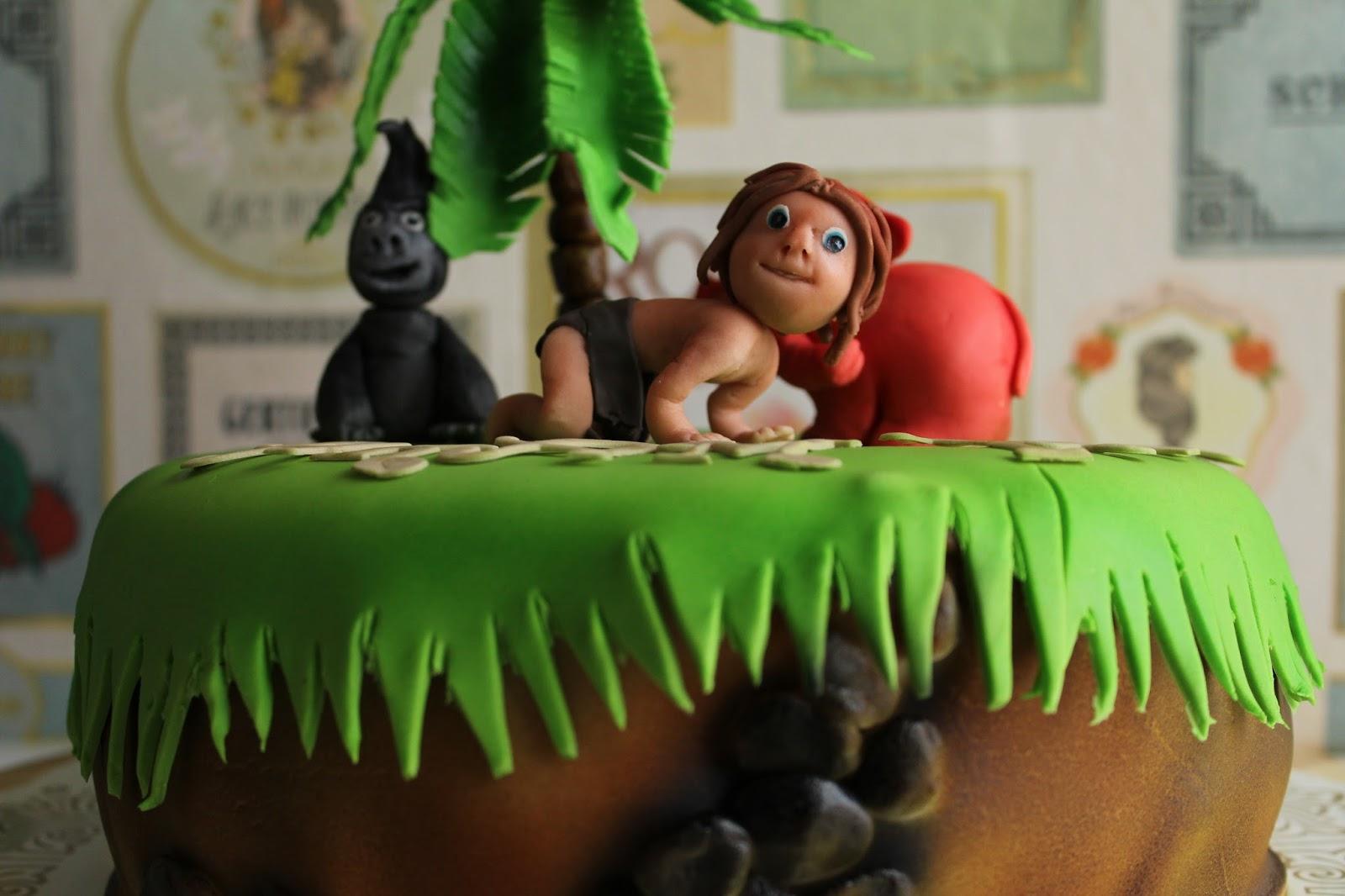 Hobbyholken  Tarzan tårta 1b7e420dbfa5b