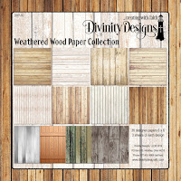 Divinity Designs LLC Weathered Wood Paper Collection