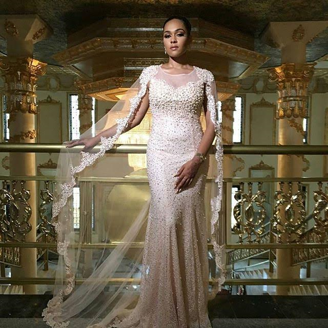 Ralph And Russo Wedding Dresses: Photos: Orobosa Igbinedion Stuns In Ralph And Russo