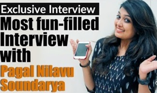 Most Fun-Filled Interview with Pagal Nilavu Soundarya!