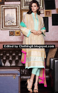 Firdous eid festive dress 2015 for women