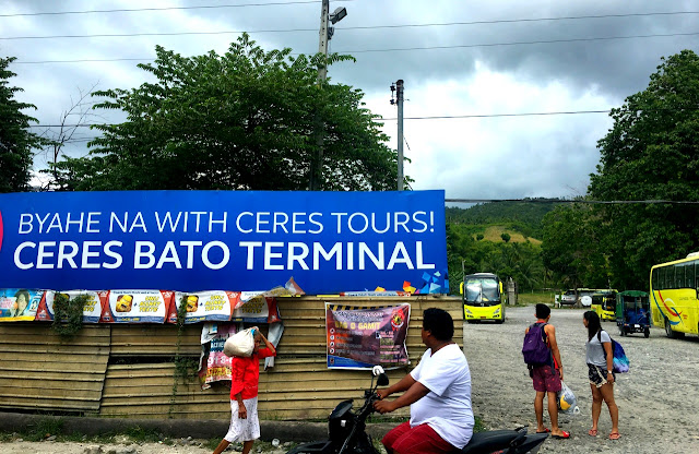 Bato Terminal for Ceres buses, Samboan, Cebu