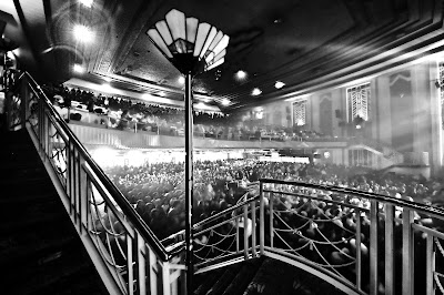 Inside Troxy main auditorium