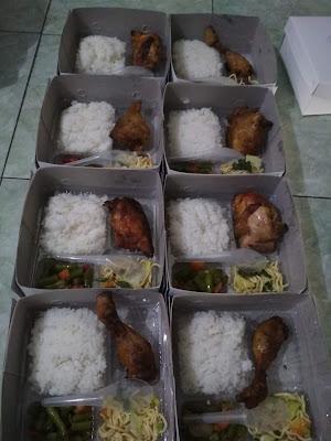 jual nasi box ayam