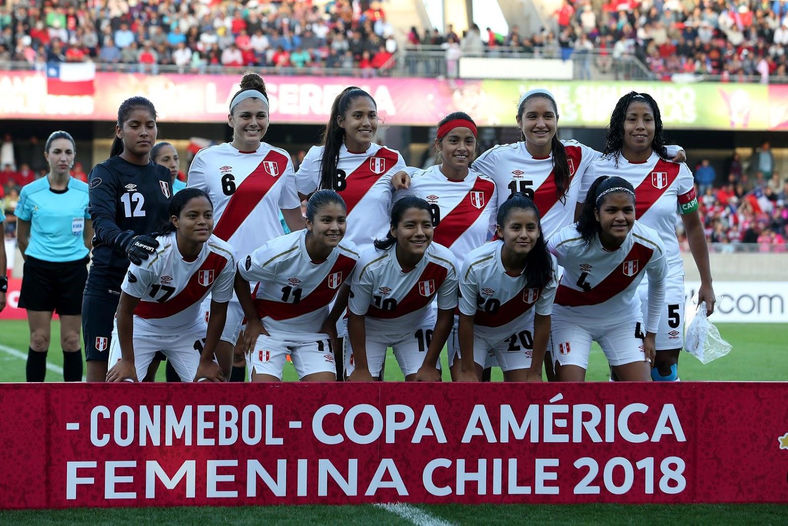 Formación de selección de Perú ante Chile, Copa América Femenina 2018, 12 de abril
