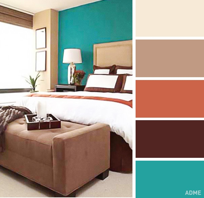 20 perfect color combination in bedroom interior