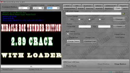 Miracle Box 2.89 Crack With Loader (Working 100%)