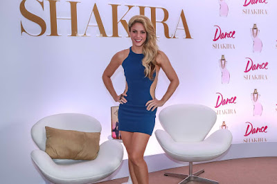 Shakira at her new Fragrance Line 'Dance' in Sao Paulo