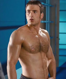 JD and Orchids Domain : Hunk Of The Day: Chris Evans