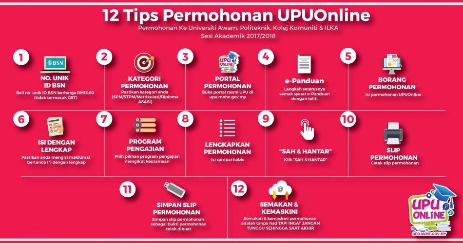 Permohonan Upu Online 2017 Untuk Universiti Awam Dan Politeknik Malaysia Scholarships 2020 2021