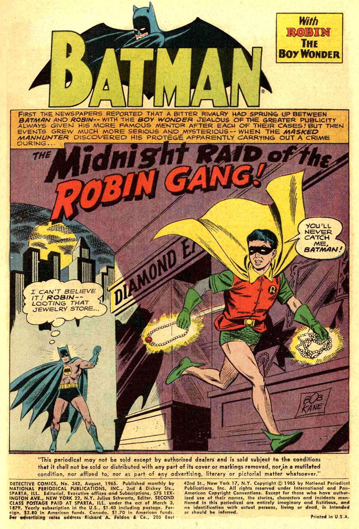 Detective Comics (1937) 342 Page 2