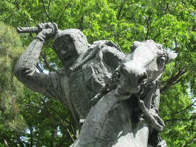 Uesugi Kenshin statue